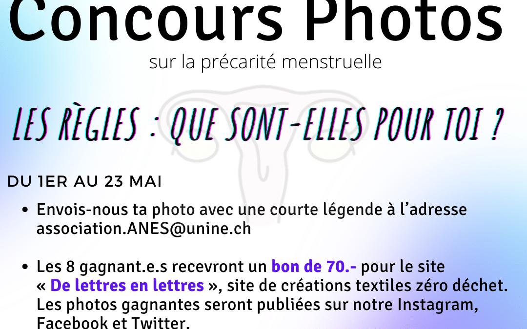 Semestre de l'Égalité – Concours photos (ANES)