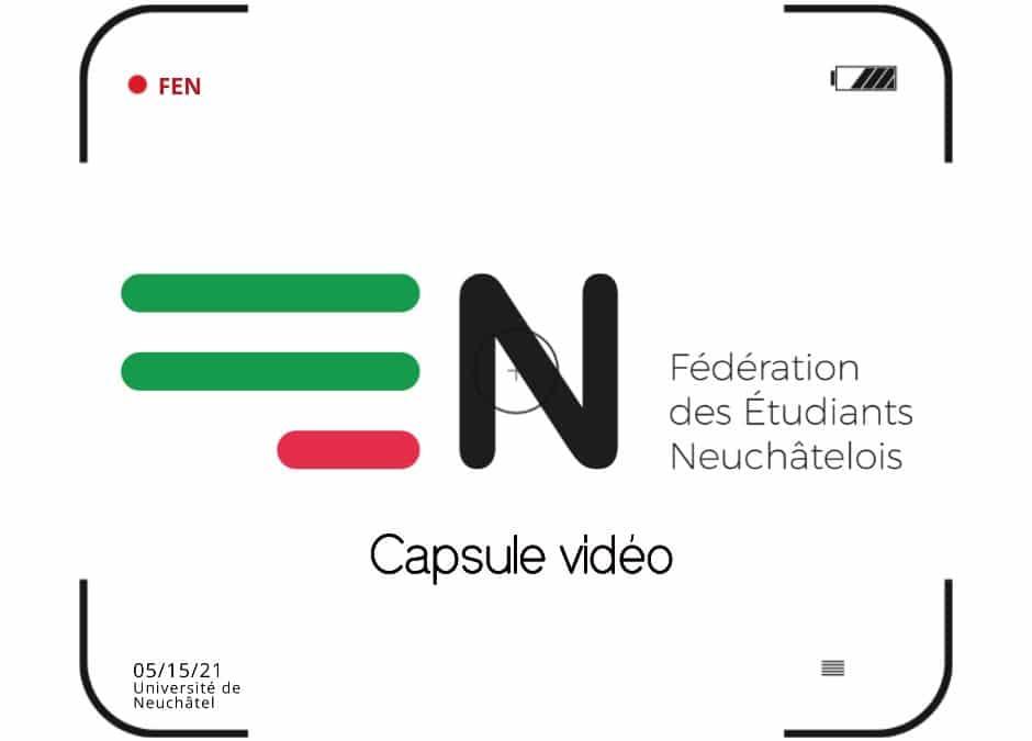 Capsule vidéo FEN – 11.05.21